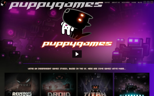 Access puppygames.net using Hola Unblocker web proxy