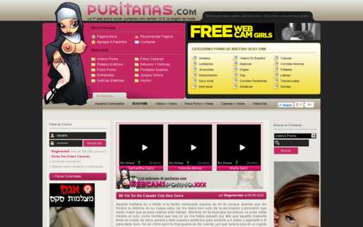 Access puritanas.com using Hola Unblocker web proxy