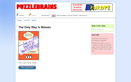 Access puzzlebrains.com using Hola Unblocker web proxy