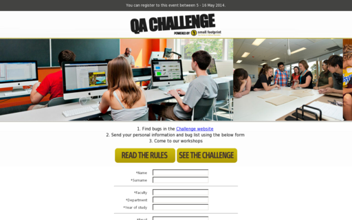 Access qachallenge.com using Hola Unblocker web proxy
