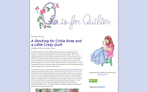 Access qisforquilter.com using Hola Unblocker web proxy
