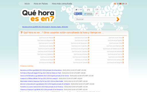 Access quehoraesen.net using Hola Unblocker web proxy