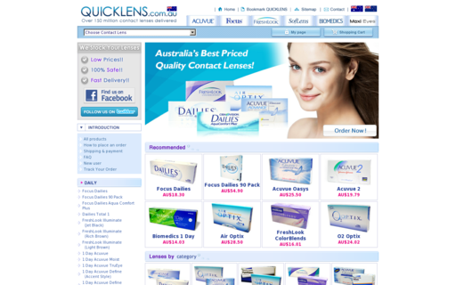 Access quicklens.com.au using Hola Unblocker web proxy