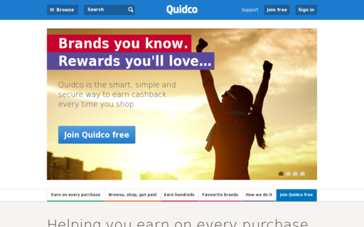 Access quidco.com using Hola Unblocker web proxy