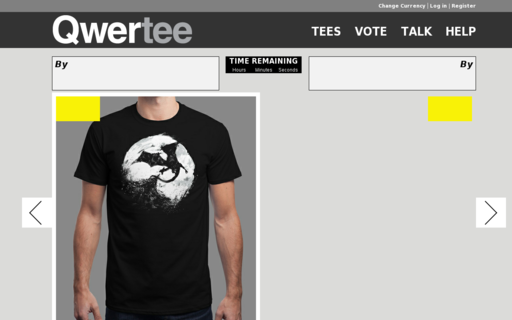 Access qwertee.com using Hola Unblocker web proxy