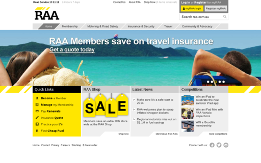 Access raa.com.au using Hola Unblocker web proxy