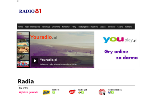 Access radio81.pl using Hola Unblocker web proxy