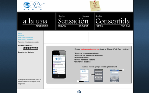 Access radiosensacion.com.mx using Hola Unblocker web proxy