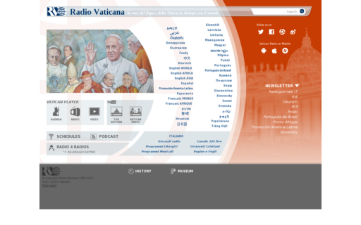 Access radiovaticana.org using Hola Unblocker web proxy