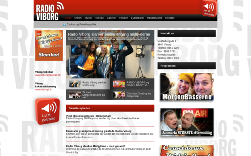 Access radioviborg.dk using Hola Unblocker web proxy