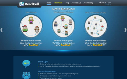Access raidcall.com using Hola Unblocker web proxy