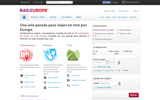 Access raileurope.com.mx using Hola Unblocker web proxy