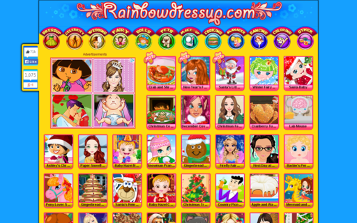 Access rainbowdressup.com using Hola Unblocker web proxy