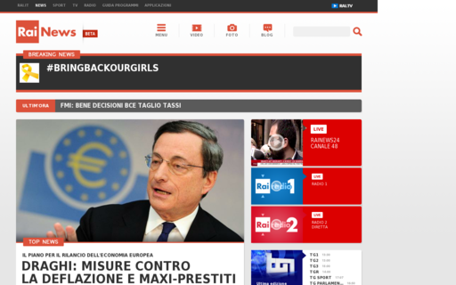 Access rainews.it using Hola Unblocker web proxy
