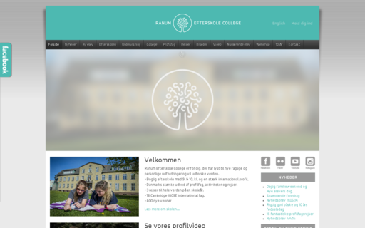 Access ranumefterskole.dk using Hola Unblocker web proxy