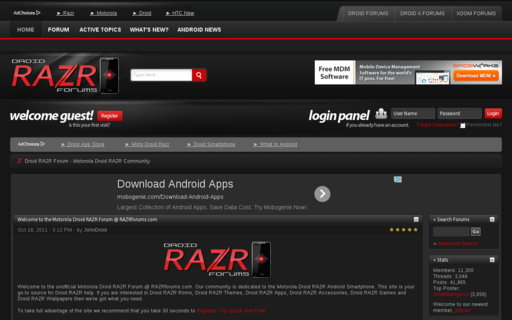 Access razrforums.com using Hola Unblocker web proxy