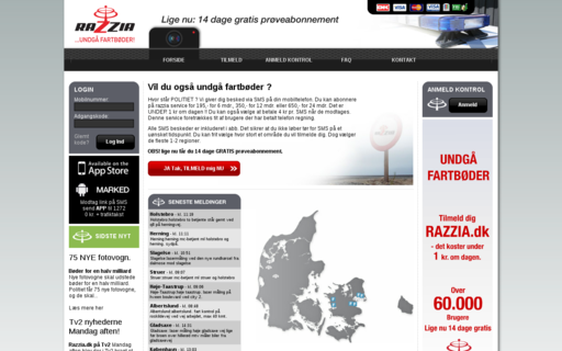 Access razzia.dk using Hola Unblocker web proxy