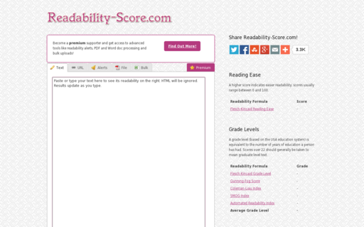 Access readability-score.com using Hola Unblocker web proxy