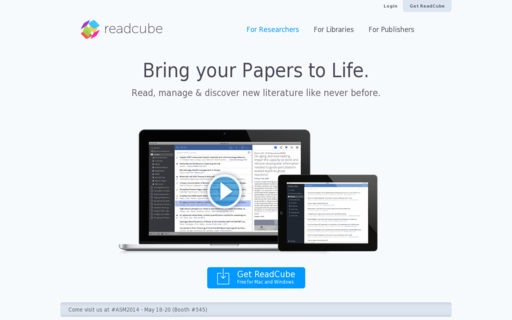 Access readcube.com using Hola Unblocker web proxy