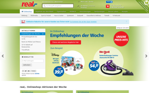 Access real.de using Hola Unblocker web proxy