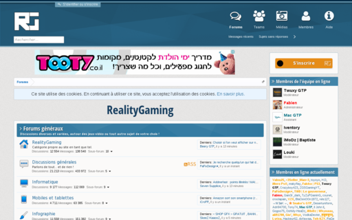 Access realitygaming.fr using Hola Unblocker web proxy