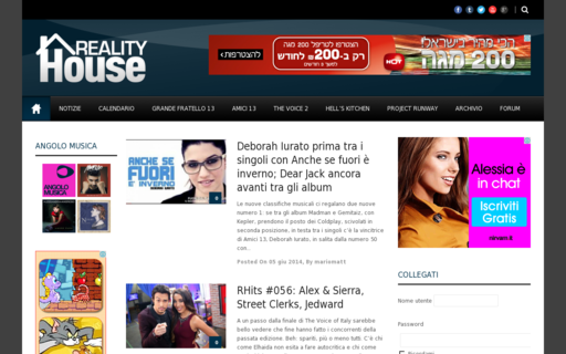 Access realityhouse.it using Hola Unblocker web proxy