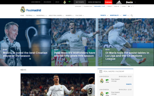 Access realmadrid.com using Hola Unblocker web proxy