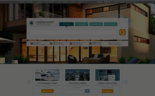 Access realtor.com using Hola Unblocker web proxy