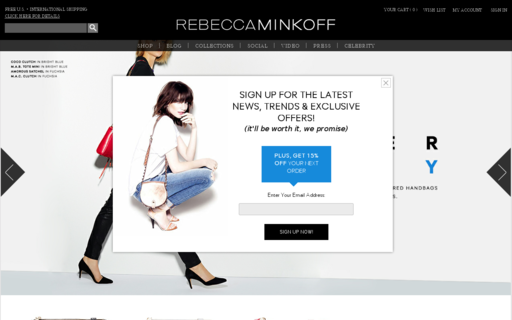 Access rebeccaminkoff.com using Hola Unblocker web proxy
