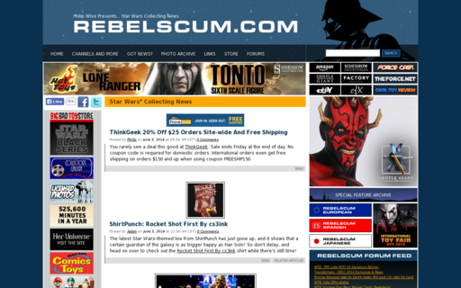 Access rebelscum.com using Hola Unblocker web proxy