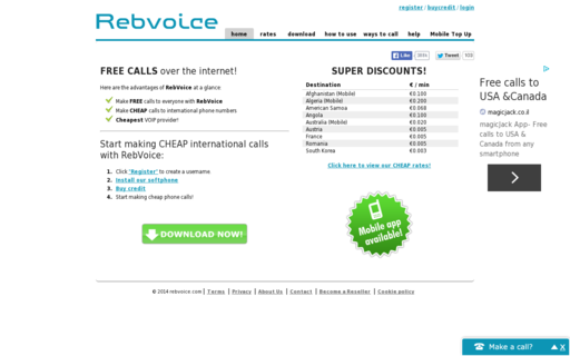 Access rebvoice.com using Hola Unblocker web proxy