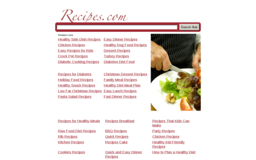 Access recipes.com using Hola Unblocker web proxy