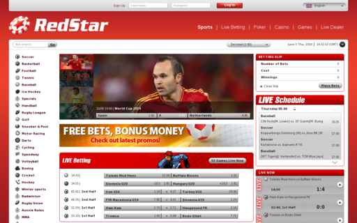 Access redstarsports.eu using Hola Unblocker web proxy