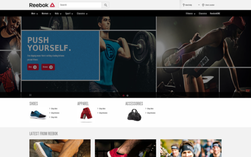 Access reebok.com using Hola Unblocker web proxy