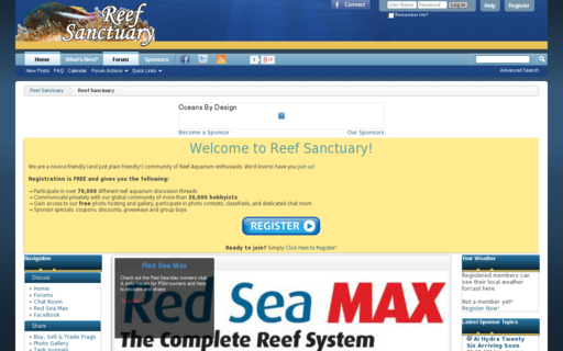 Access reefsanctuary.com using Hola Unblocker web proxy