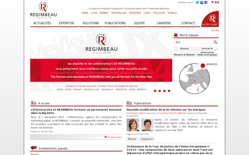 Access regimbeau.eu using Hola Unblocker web proxy