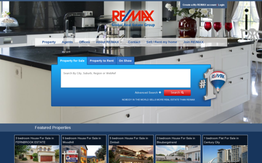 Access remax.co.za using Hola Unblocker web proxy