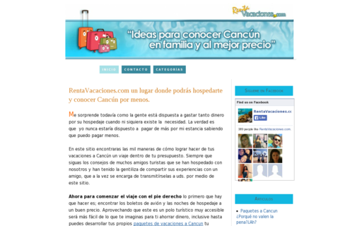 Access rentavacaciones.com using Hola Unblocker web proxy