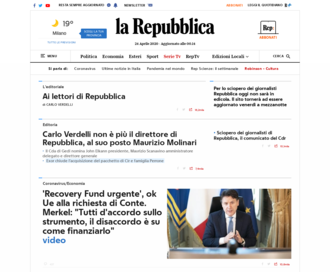 Access repubblica.it using Hola Unblocker web proxy