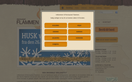 Access restaurant-flammen.dk using Hola Unblocker web proxy