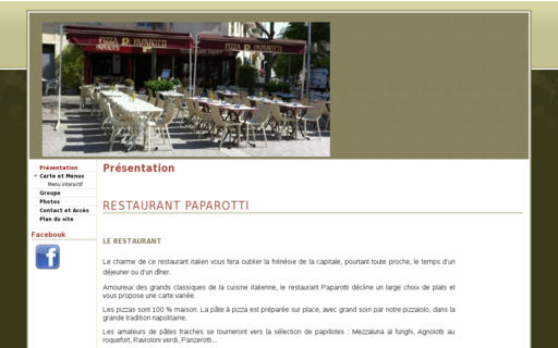 Access restaurant-paparotti.fr using Hola Unblocker web proxy