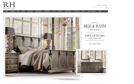 Access restorationhardware.com using Hola Unblocker web proxy