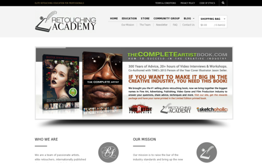 Access retouchingacademy.com using Hola Unblocker web proxy