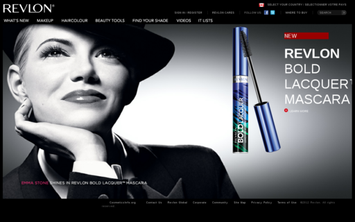 Access revlon.ca using Hola Unblocker web proxy