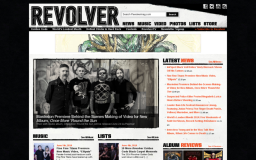Access revolvermag.com using Hola Unblocker web proxy