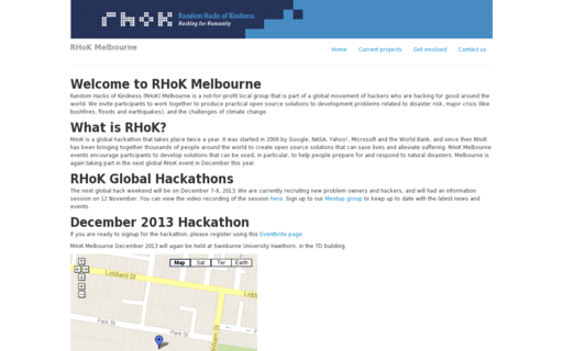 Access rhokmelbourne.org using Hola Unblocker web proxy
