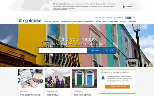 Access rightmove.co.uk using Hola Unblocker web proxy