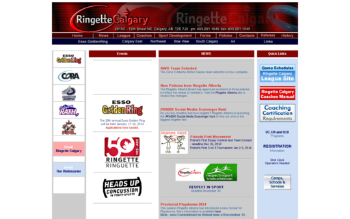 Access ringettecalgary.ca using Hola Unblocker web proxy