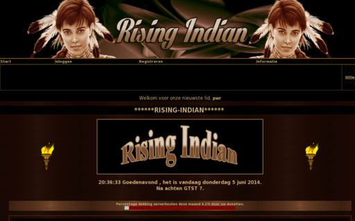 Access rising-indian.org using Hola Unblocker web proxy