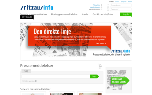 Access ritzauinfo.dk using Hola Unblocker web proxy